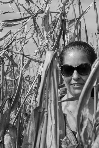 Lindsay & I at Thompson's Farm, Conway