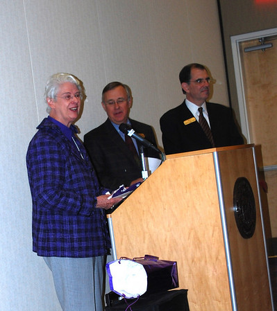 Rena Reynolds honored by Brite
