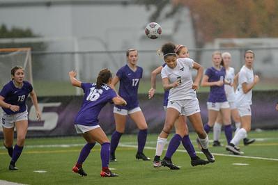 Tigard High School Girls Varsity Soccer vs Sunset HS