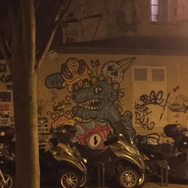 In Paris? Stay up late... #butteauxcailles #neighborhoods #walking