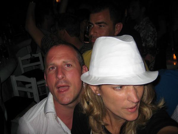 Partying in Mykonos