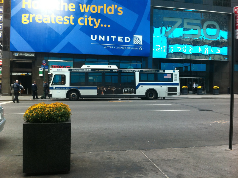 Bus that contained suspicious package
