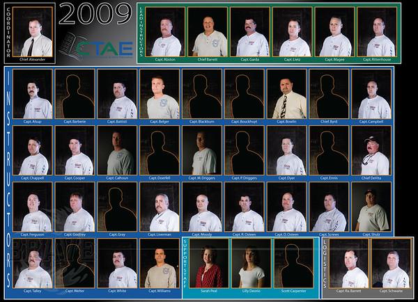 Instructors 2009