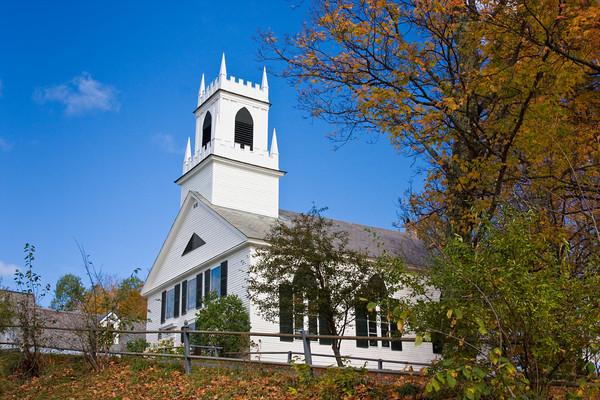 New England Village Church, Weston, Vermont