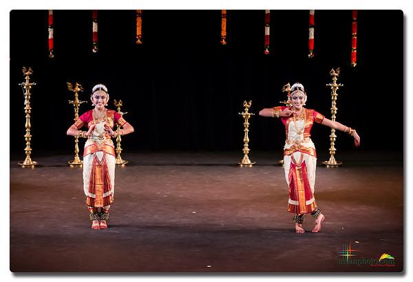 Natasha & Meghana's Bharatanatyam Arangetram 2016