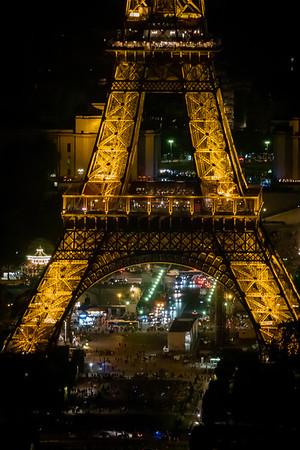 08_Paris - Eiffel Tower - Night
