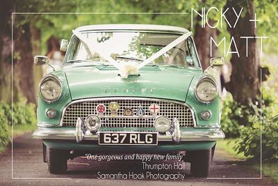 The Stunning Thrumpton Hall Wedding of Nicky and Matt