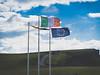 Flag of Ireland, Cliffs of Moher, Ireland