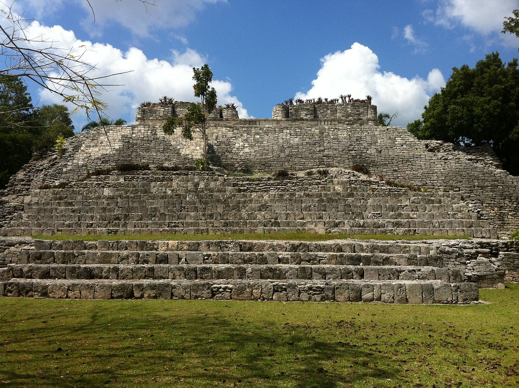 Kohunlich - Best Mayan Ruins in Mexico