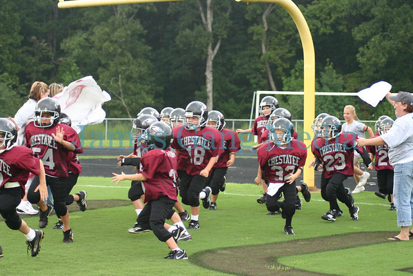 7yo Jr. War Eagles - Sept. 2, 2006