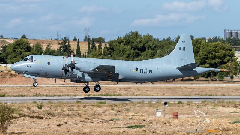 Hellenic Navy / Lockeed P-3B Orion / 744 (152744)