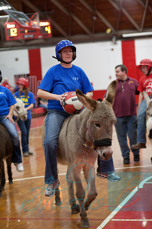 Donkey Basketball 2012