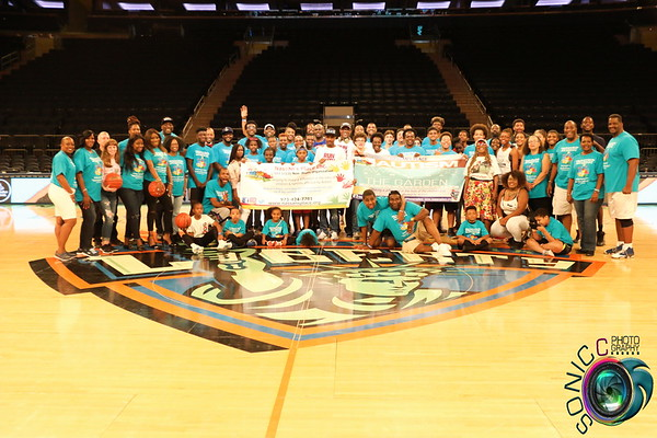AUGUST 13TH, 2017:AUTISM AWARENESS GAME DAY @MADISON SQUARE GARDEN W/ THE NEW YORK LIBERTY