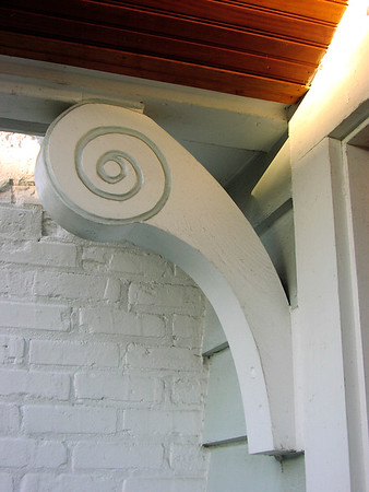 Custom Brace for Front Porch