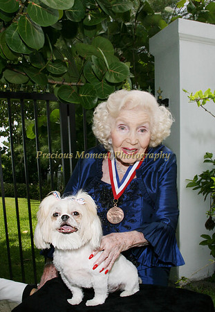 Gertrude Maxwell Honored by Whitehouse - June 2008