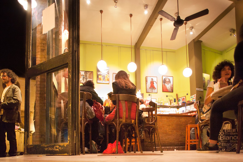 Drinking bar, Alameda de Hercules area, Seville, Spain