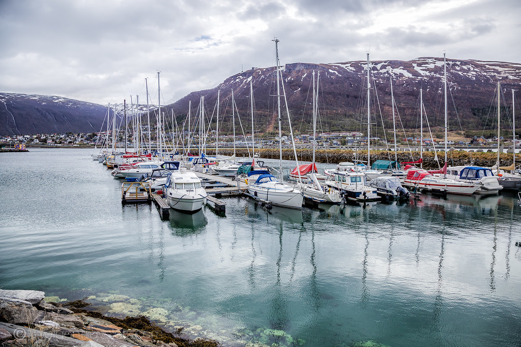 Tromsø Bay in Norway