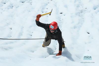 September 2 - Ice Climb with Brett and Kailey