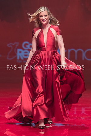 FW17 - Red Dress Runway Show