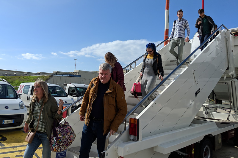 Friday, Oct 26 - Arriving Rome