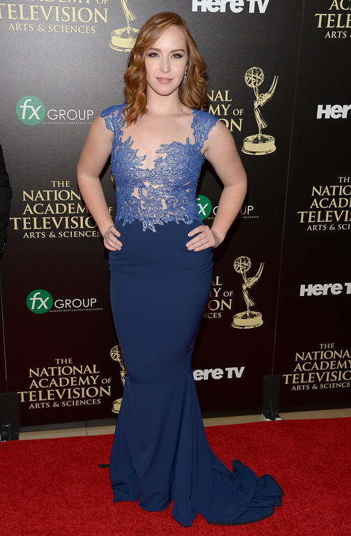 . Actress Camryn Grimes attends The 41st Annual Daytime Emmy Awards at The Beverly Hilton Hotel on June 22, 2014 in Beverly Hills, California.  (Photo by Jason Kempin/Getty Images)