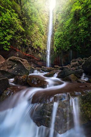 Waterfalls Streams and Lakes