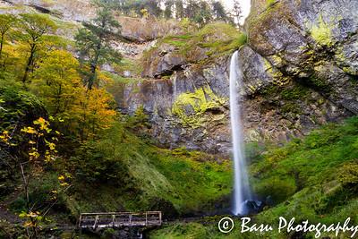 Water Falls During Fall Season