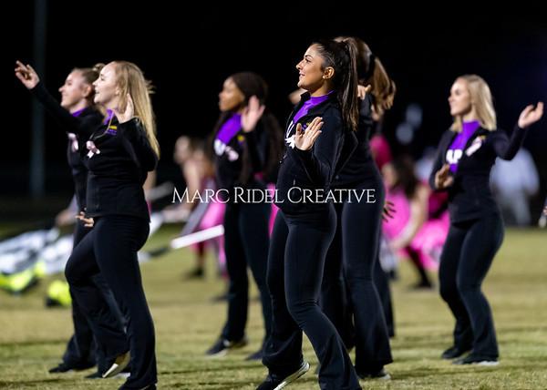 Broughton varsity football vs Cardinal Gibbons. Band and Dance Team Senior Night. October 25, 2019. D4S_1885