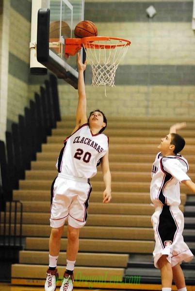 Clackamas JV Basketball vs. Oregon City 02/05/08