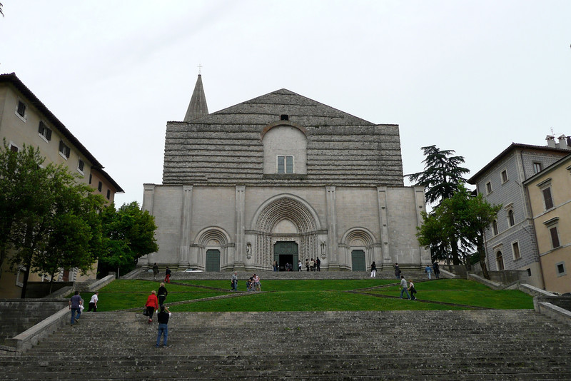 Tempio di San Fortunato. Todi, Umbria