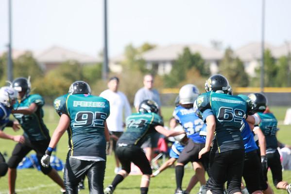 Mustangs Football 2011 Game 4