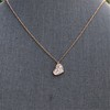 .65ctw Rose Gold Askew Heart Mosaic Pendant 5