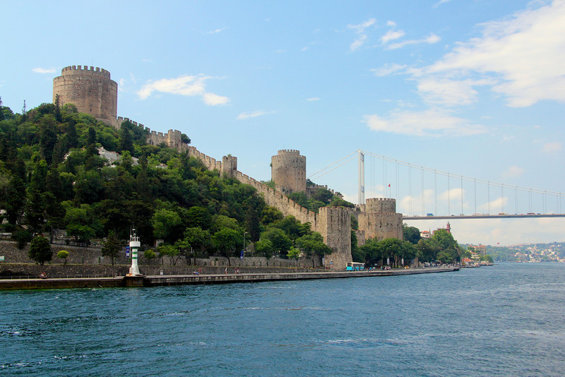 Rumelian Castle from the Bosphorus Cruise