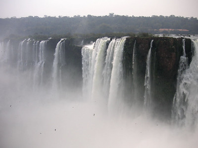 Iguazu from the Argentine side.