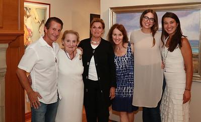 AKG-Madeleine Albright book signing.