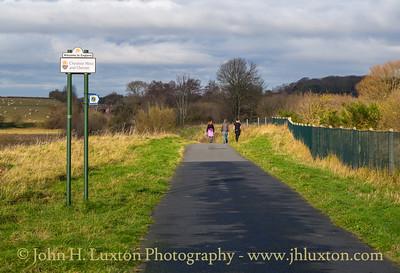 Burton Marsh Greenway - Sustrans Route 568