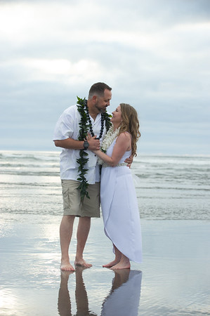 Tanya & Adam, Seaside, Oregon Coast Aug. 5