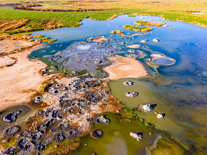Aerial Views of the New Salton Sea Mudpot