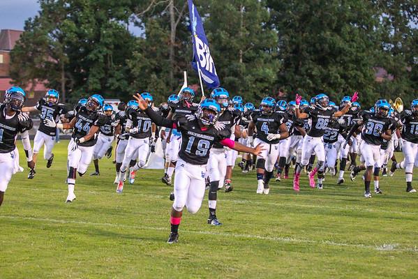 LC Bird Varsity Football 2014