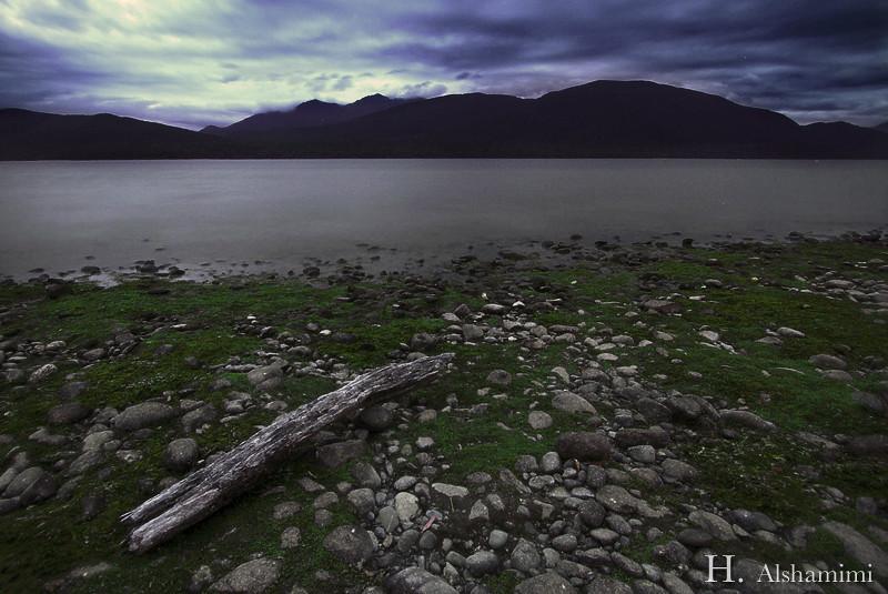 Lake Te Anau at Dusk