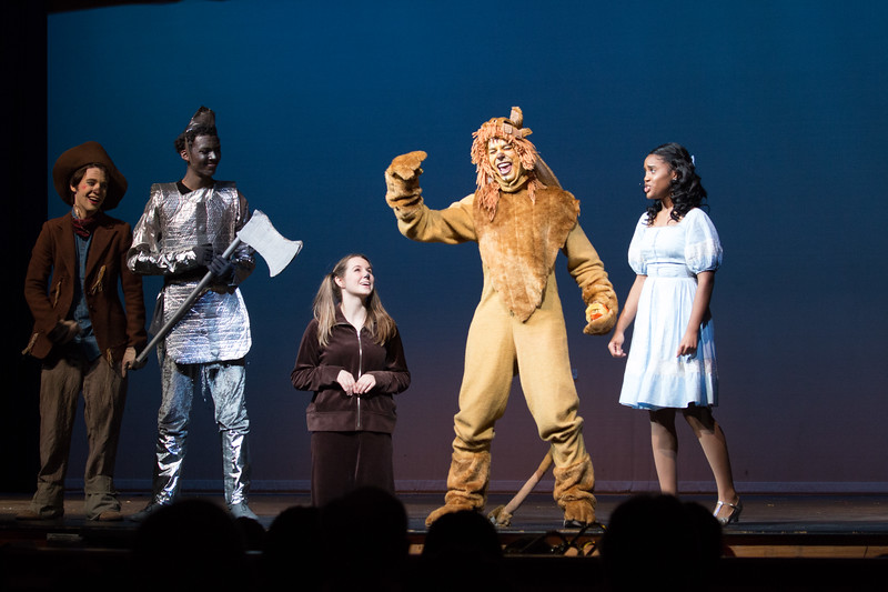 """Be a Lion"" -- ""The Wiz"", Montgomery Blair High School spring musical, March 26, 2017"