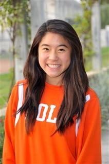 Description of . Kiki Yang of Pasadena Poly girls basketball. HAND-IN: 4-16-13