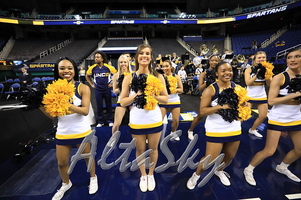 UNCG MENS BB SPIRIT TEAMS N CROWDS 01-26-19