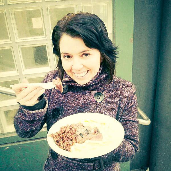 restaurant day me eating horse meat.jpg
