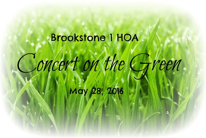 Brookstone 1 HOA Concert on the Green