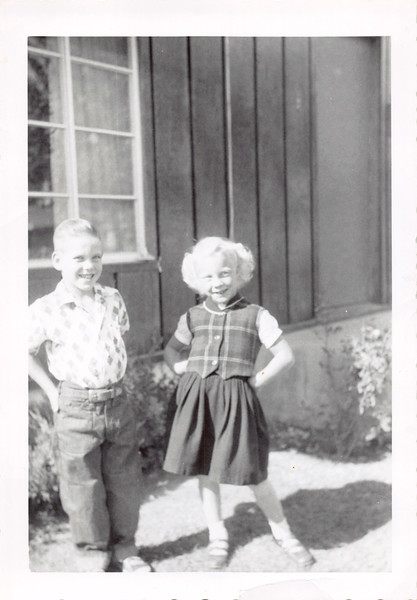 Jim and Jana W, Oct 1955