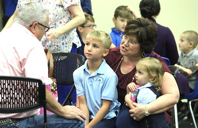 Center Christian Academy hosts grandparents for 'Grubbin' With Grands''