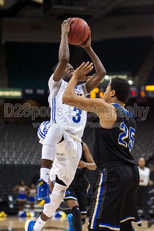 Carver Yellow Jackets vs McMichael Phoenix Men's Varsity Basketball 12/29/2014