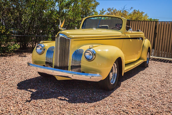 41 Packard 110 Roadster