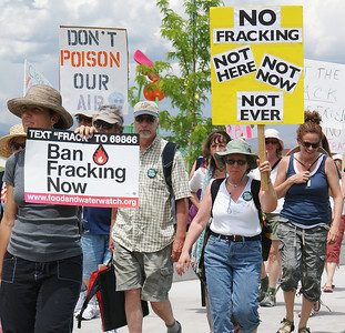 Erie Colorado-June 2012-Anti Fracking Rally & March